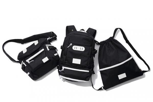 X-girl×マキャベリックのコラボバッグ発売 - バックパック、メッセンジャー、ナップサックの3型