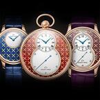 ジャケ・ドローから新作、世界限定8本のパイヨン装飾時計