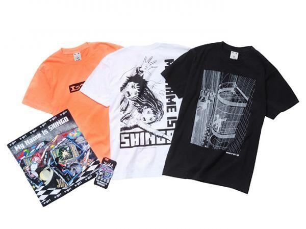 X-girl×楳図かずお『わたしは真悟』、TシャツやiPhoneケースなどコラボアイテム