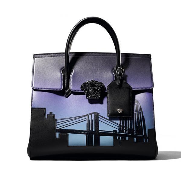 ヴェルサーチ 世界7都市をイメージした限定バッグ、パリ・NY・東京など