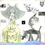 宇野亞喜良の展覧会「綺想曲」銀座三越で - 新作原画や立体オブジェなど展示