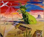 特別展「世界が妙だ! 立石大河亞+横山裕一の漫画と絵画」広島市現代美術館で開催