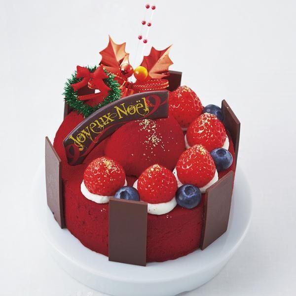 阪神百貨店のクリスマスケーキ - コリアンダーなどスパイスとショコラを組み合わせたケーキ
