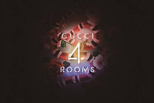 """「GUCCI 4 ROOMS」グッチの美学を体験できるエキシビジョン、""""4つの部屋""""が銀座に出現"""