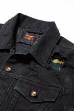 ディーゼル青山店から岡山デニムの限定ジャケット&パンツ - ダメージとリペアで80'sグランジを表現