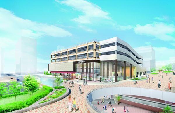 新商業施設「セルバテラス」仙台・泉に - オープン後にはイルミネーションの点灯も