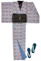 大塚呉服店からオリジナルきもの「花紋つなぎ」- 京袋帯「マーブル」「キューブ」の新色も登場