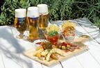 夏季限定「プレミアム ビア ファーム」二子玉川ライズに、涼しい木陰でバル料理やビールを味わう