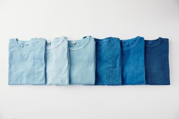 フィルメランジェ×藍染め職人集団リトマス、天然藍で染めたTシャツが限定発売