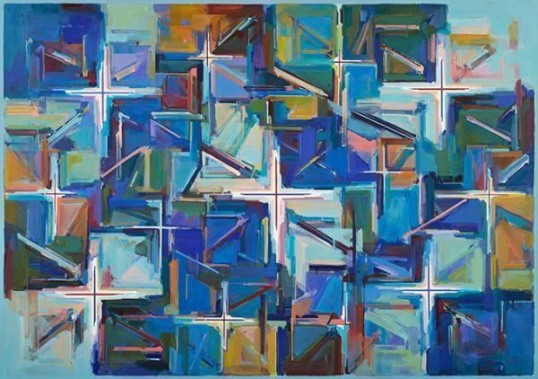 「endless 山田正亮の絵画」展が東京国立近代美術館で - 初の本格的回顧展を最大規模の作品数で