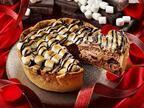 パブロのバレンタイン、サクサクの焼きマシュマロ×とろけるチョコレートチーズ - ハートピック付きも