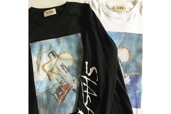 G.V.G.V. FLATから限定ロングTシャツ、ストリートを感じる「スリーブロゴ」デザイン