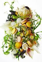 ピエール・エルメ・パリのマカロン「ジャルダン デ ポエット」白味噌とレモンの組み合わせ