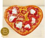 ピザーラ、初のハート型ピザ『ハートピザ』全国発売 - ハートの中には熟成サラミがいっぱい