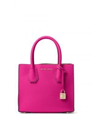 マイケル・コースのバレンタイン - スタッズを配したバッグやピンクのヴィンテージなカメラ・バッグ
