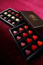 プリンスホテルのバレンタイン&ホワイトデー、ハート&バラ型のチョコや限定デザート