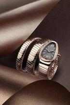 ブルガリの時計「セルペンティ トゥボガス」新作 - エレガントなグレーダイアルが登場