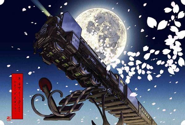「松本零士 浮世絵コレクション」松本監修のもと『銀河鉄道999』など名作が浮世絵木版画に