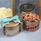 ギャレット ポップコーンのホワイトデー限定缶「Lots of Love」中にいちご×ホワイトチョコ味