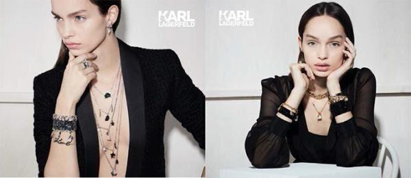 カール ラガーフェルド初のファッションジュエリー・コレクションが誕生、スワロフスキーとタッグ