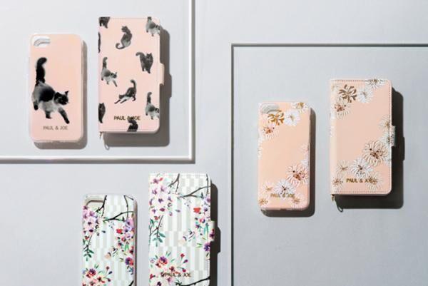 ポール & ジョー iPhone7用スマートフォンケース -「水墨画ネコ」や「ツバメ」柄など