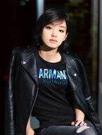 「A|X アルマーニ エクスチェンジ」17年度イメージアンバサダーに女優・剛力彩芽を起用