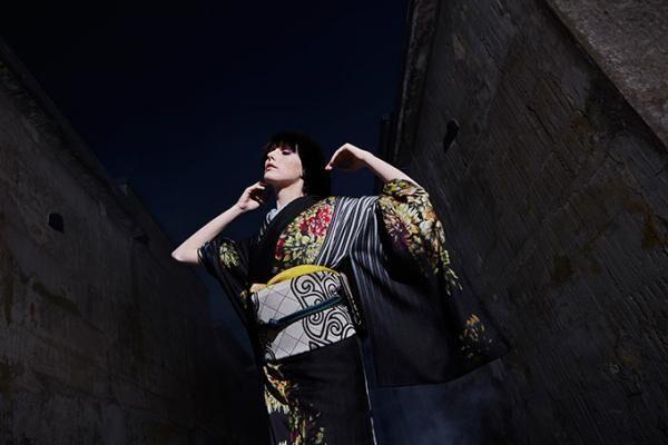 ジョウタロウ サイトウ、ギンザ シックスに旗艦店 - カフェ併設の新業態、手描き京友禅着物を限定販売