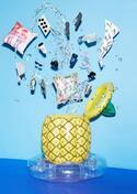 フランフラン、パイナップル型のビッグフロート(浮き輪)やドリンククーラー発売