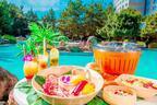 舞浜・ヒルトン東京ベイの屋外ハワイアンプール、プールサイドでBBQも