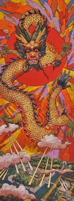 展覧会「絹谷幸二 色彩とイメージの旅」が京都で - アフレスコ技法を駆使した鮮やかな代表作が集結