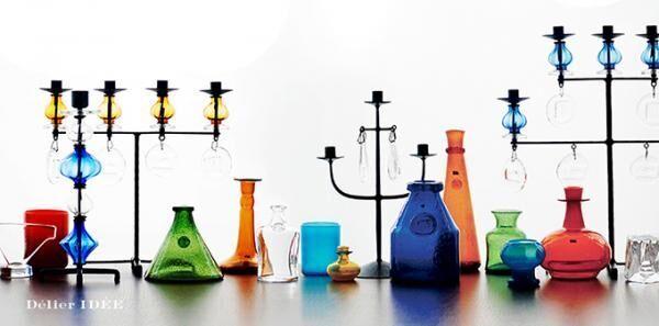 """""""北欧ガラスの革命児""""エリック・ホグランの展示会が新丸ビルで開催 - 食器や花瓶などを販売"""