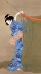 山種美術館にて「上村松園 ー美人画の精華ー」開催 - 近代日本の美人画が集結、喜多川歌麿の作品も