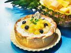 パブロから季節限定「ゴールデンパインとココナッツのチーズタルト」ごろごろ果肉×ココナッツカスタード
