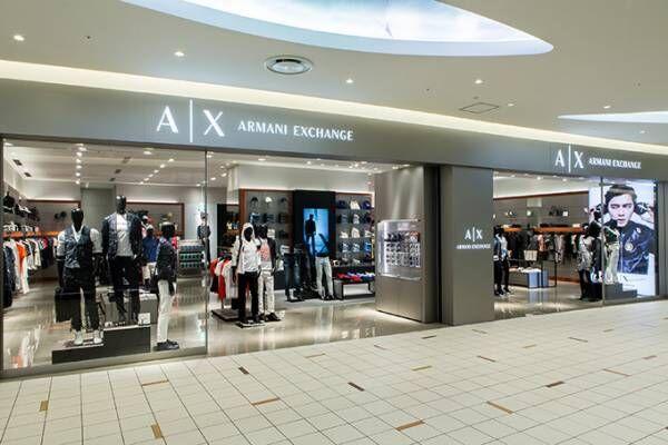 A Xアルマーニ エクスチェンジ最大規模の新店舗「ダイバーシティ東京」に、メンズアンダーウェア展開