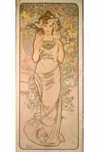 「アルフォンス・ミュシャ展」茨城・しもだて美術館で開催、アール・ヌーヴォー名作ポスター等約400点