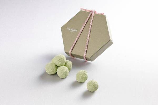 ずんだ餅をモチーフにした新作チョコレート「ショコラ de ずんだ」、ウェスティンホテル仙台から発売
