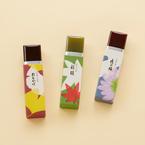 とらやの「秋菓子」秋パッケージの小形羊羹、新栗を使用した和菓子など