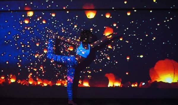 新感覚のフィットネス「星空のランタンヨガ」渋谷で期間限定開催、幻想的な空間で究極のリラックス体験を