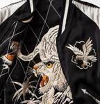 テーラー東洋×サスクワァッチファブリックスのコラボスカジャン、新宿・ビームスジャパンで限定販売