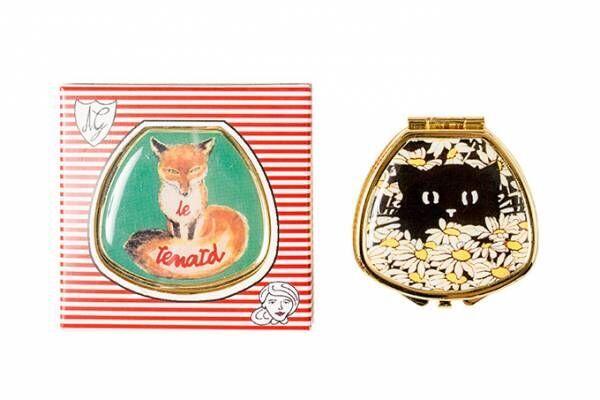 ロンドン発ナチュラルコスメ「アンドレア・ガーランド」のリップバーム、猫モチーフのヴィンテージデザイン
