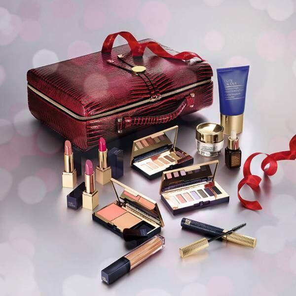 エスティローダー17年クリスマスコフレ - メークアップ&スキンケアのフルセットや、宝石の様な練香水