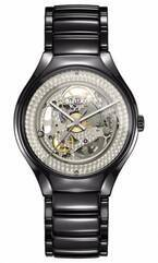 スイス時計ラドーとアンリアレイジの森永がコラボ - 文字盤が黒から透明に変化