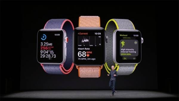 アップルが新型Apple Watchを発表 - 携帯通信で通話が可能、音楽のストリーミング再生も