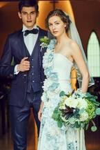 ディーゼルが手掛けるブライダル - デニムを使ったウエディングドレス、南青山で限定提供