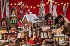 ヒルトン東京お台場「クリスマスマーケット」をイメージしたデザートブッフェ、サンタやトナカイのケーキ