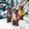 リーガロイヤルホテル大阪のクリスマス限定ショコラ、鮭を片手にXmasを待つクマ&ツリーをモチーフに