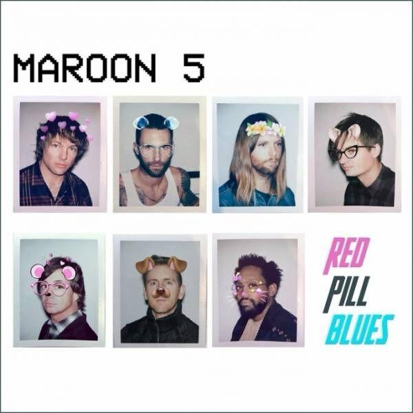 マルーン5、3年ぶり新アルバム『レッド・ピル・ブルース』日本で最速の先行販売決定