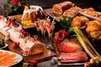 ヒルトン小田原リゾート&スパ「クリスマス ランチブッフェ」ローストビーフ&チキンなど肉料理やスイーツ
