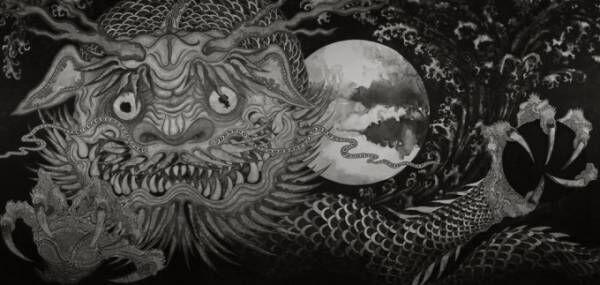 """茨城・常陸国出雲大社で「―アジアの神々― 金子富之展」開催、アジアや日本に伝わる神々を""""実体化"""""""