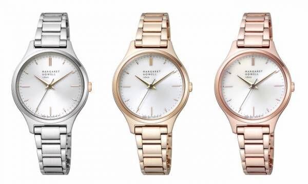 マーガレット・ハウエル アイデアより新作腕時計、ソーラーテック&見やすい大きめケース